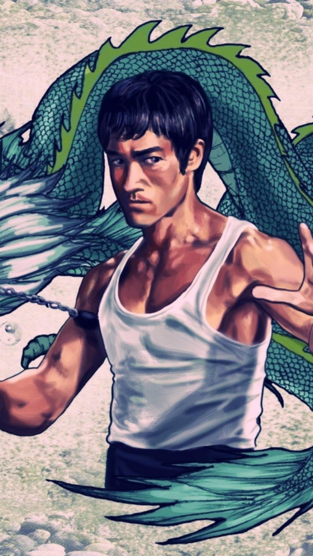 Chicago Wallpaper Iphone X Bruce Lee Iphone Wallpaper Pixelstalk Net