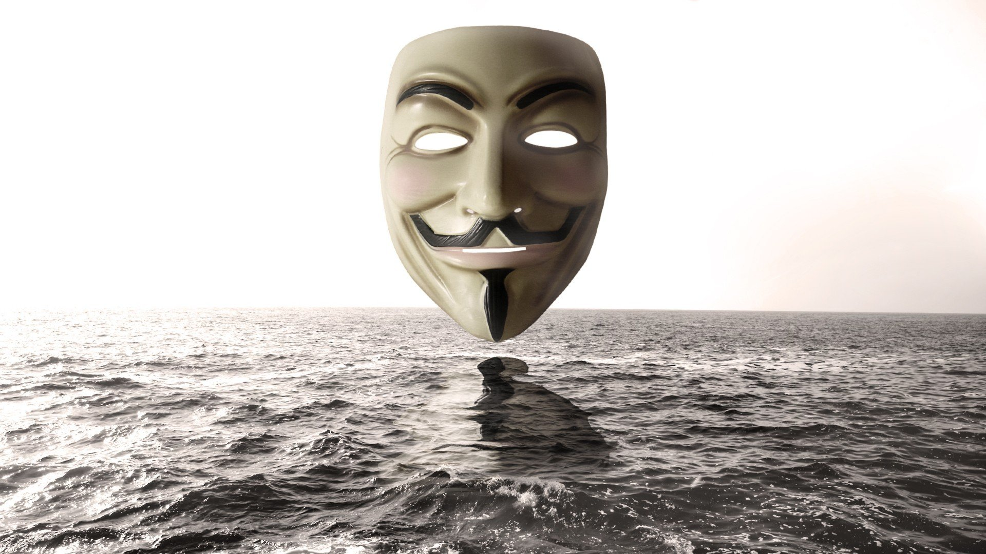 Anonymous Mask Wallpapers HD  PixelsTalkNet
