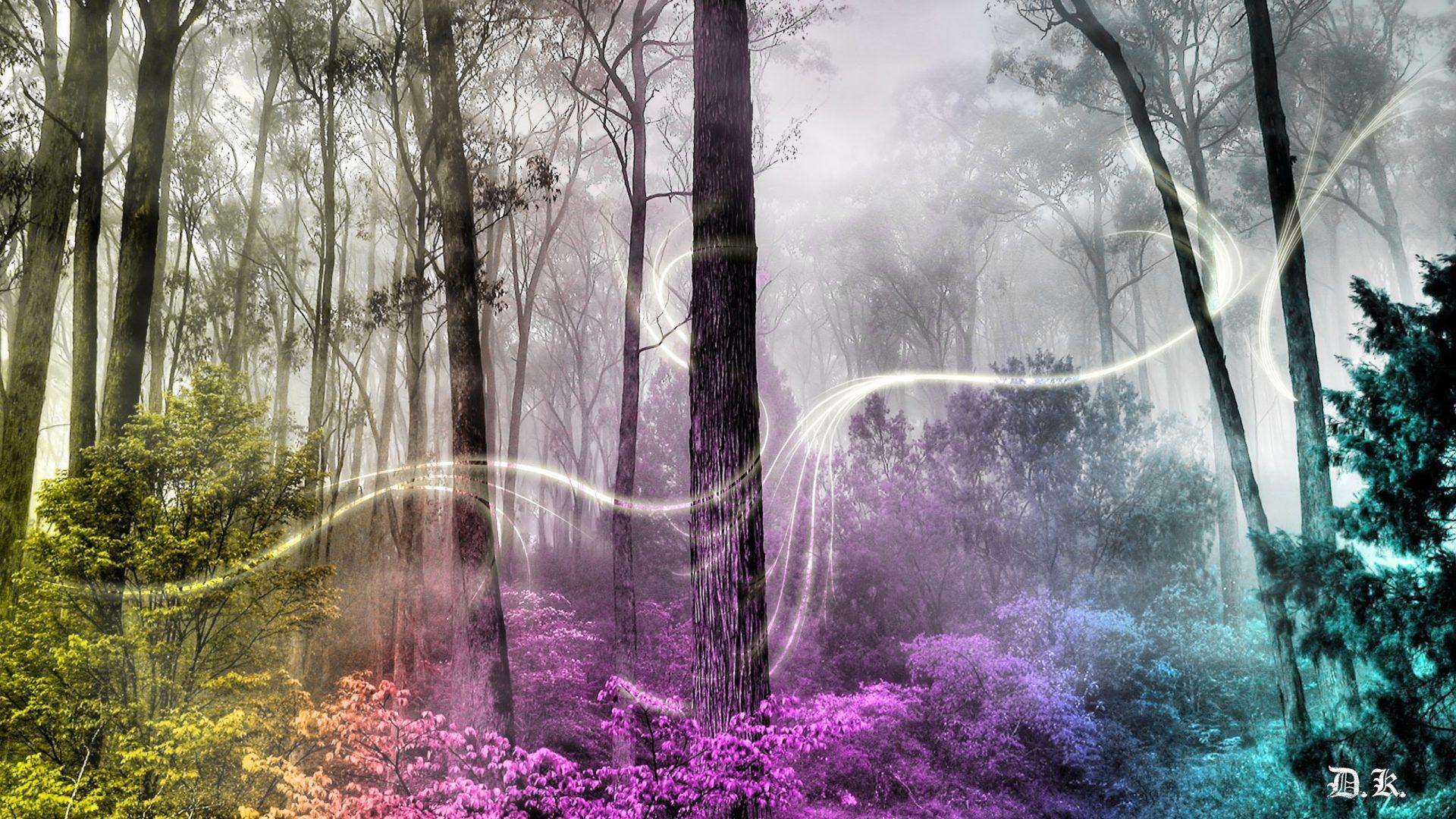 Unicorn Quotes Wallpaper Enchanted Forest Wallpapers Hd Pixelstalk Net