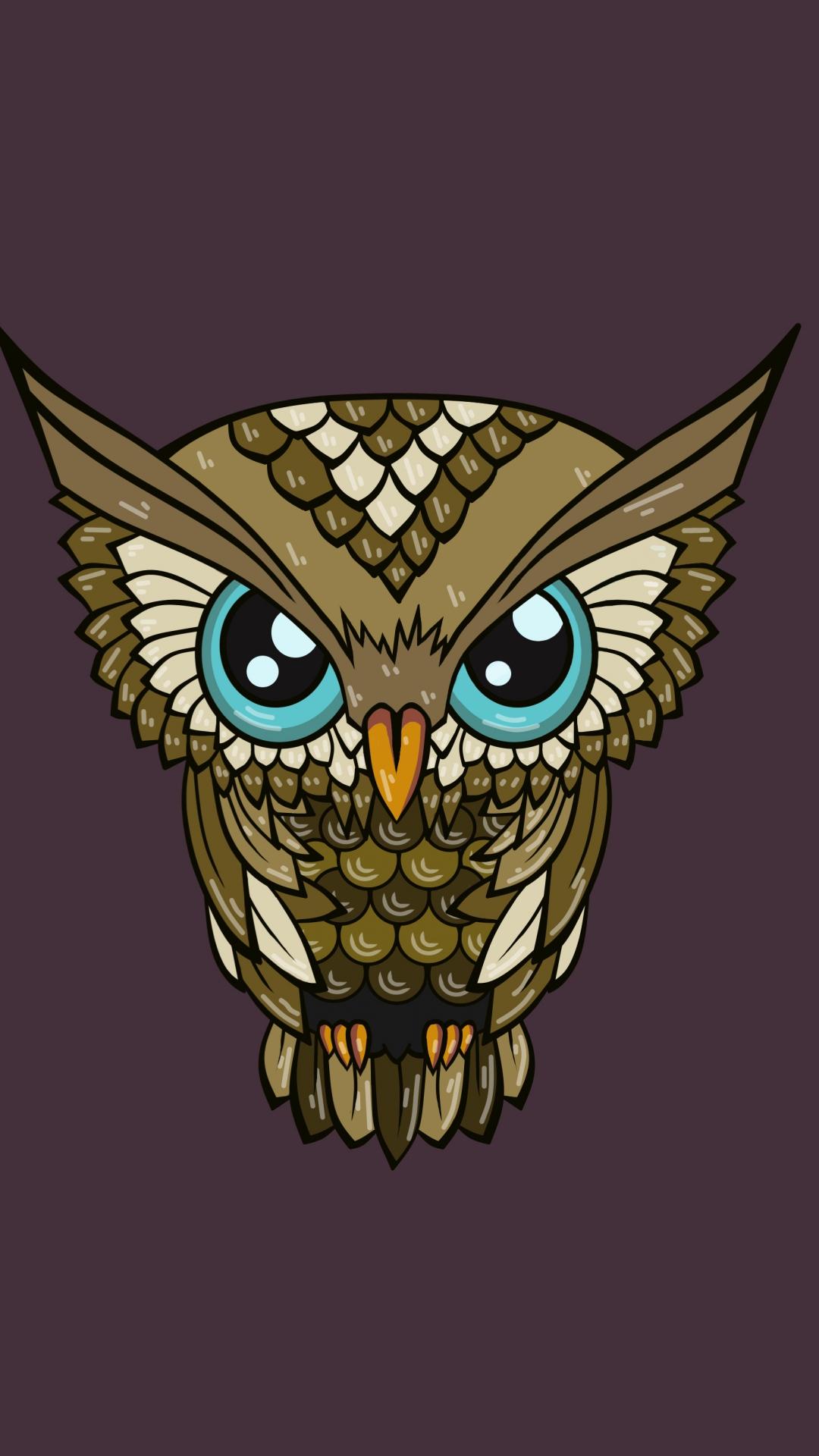 Cute Baby Couple Cartoon Wallpaper Hd Cute Owl Wallpaper For Android Pixelstalk Net
