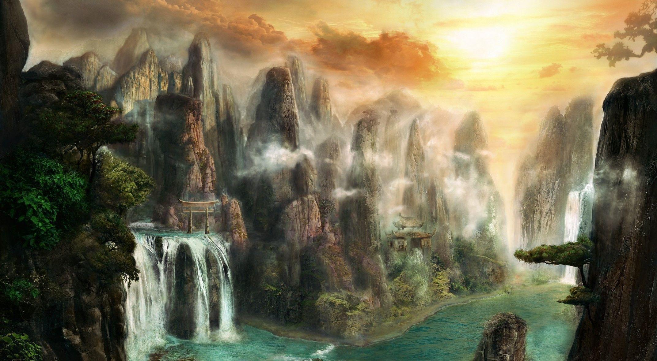 fantasy landscape wallpapers hd   pixelstalk