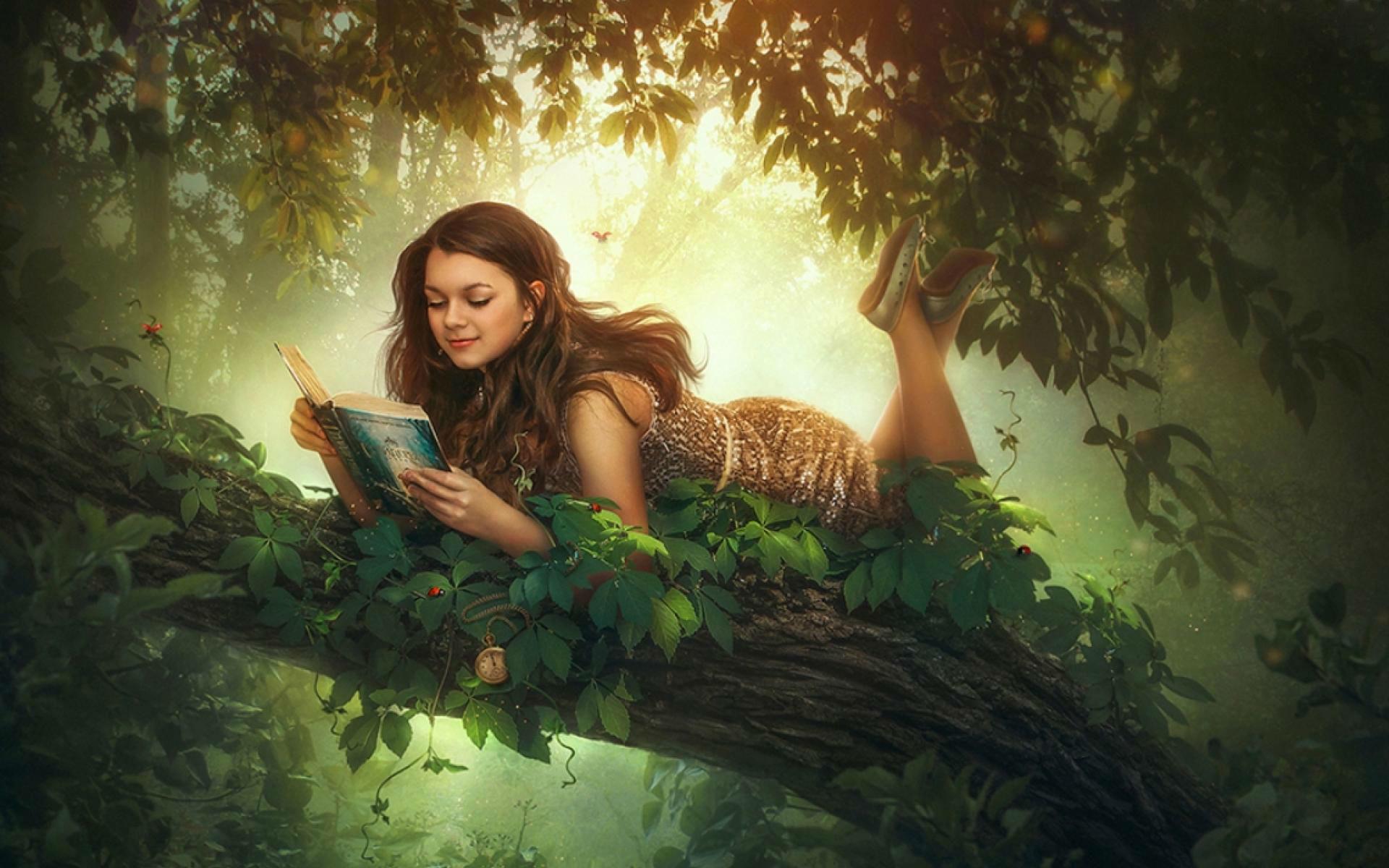 Fantasy Girl Backgrounds