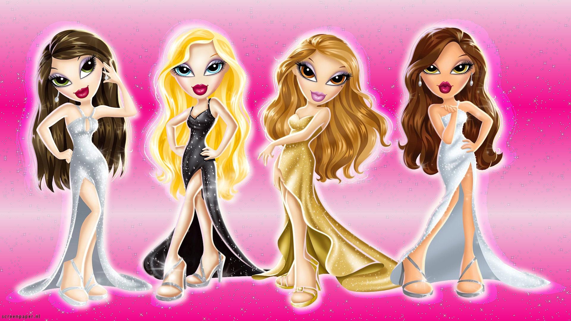 Cute Barbie Doll Wallpapers For Mobile Bratz Hd Wallpaper Pixelstalk Net