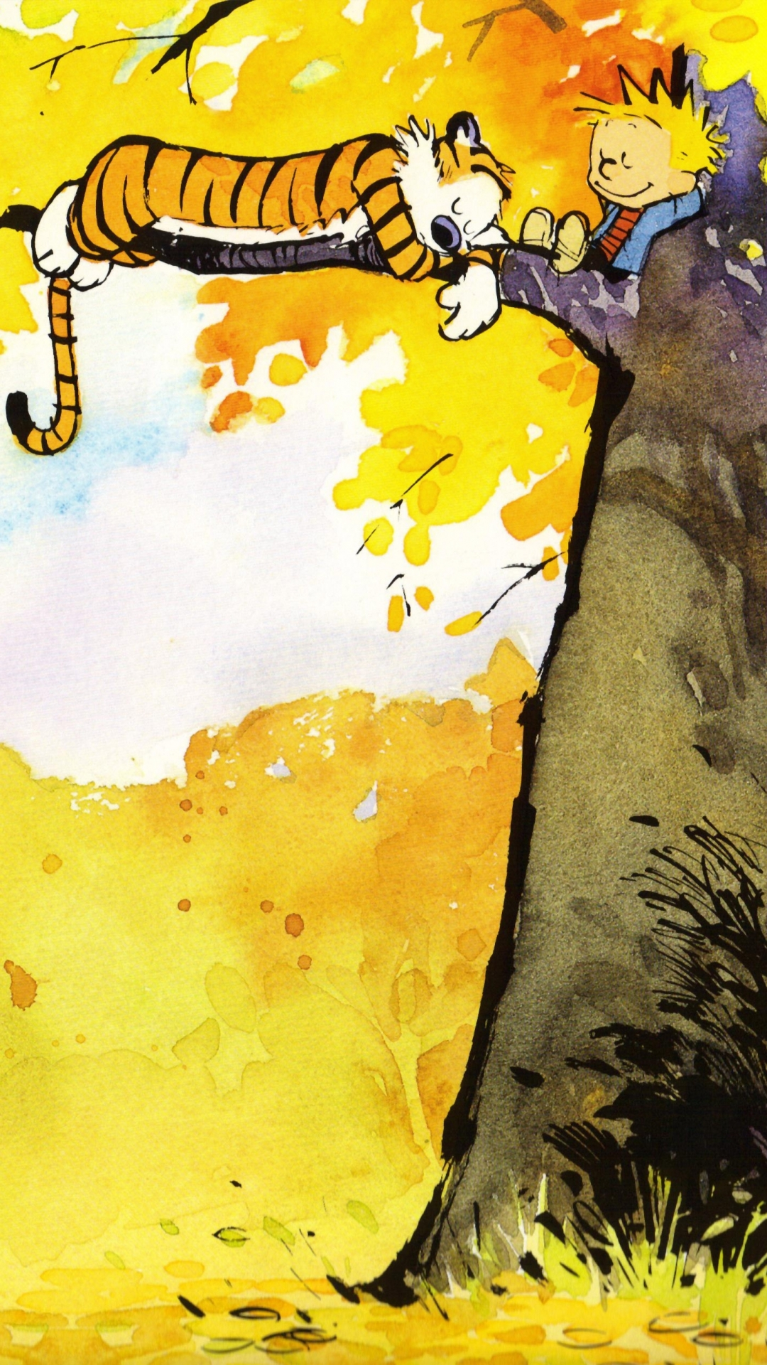 Calvin And Hobbes Wallpaper Quotes Calvin And Hobbes Iphone Wallpaper For Desktop