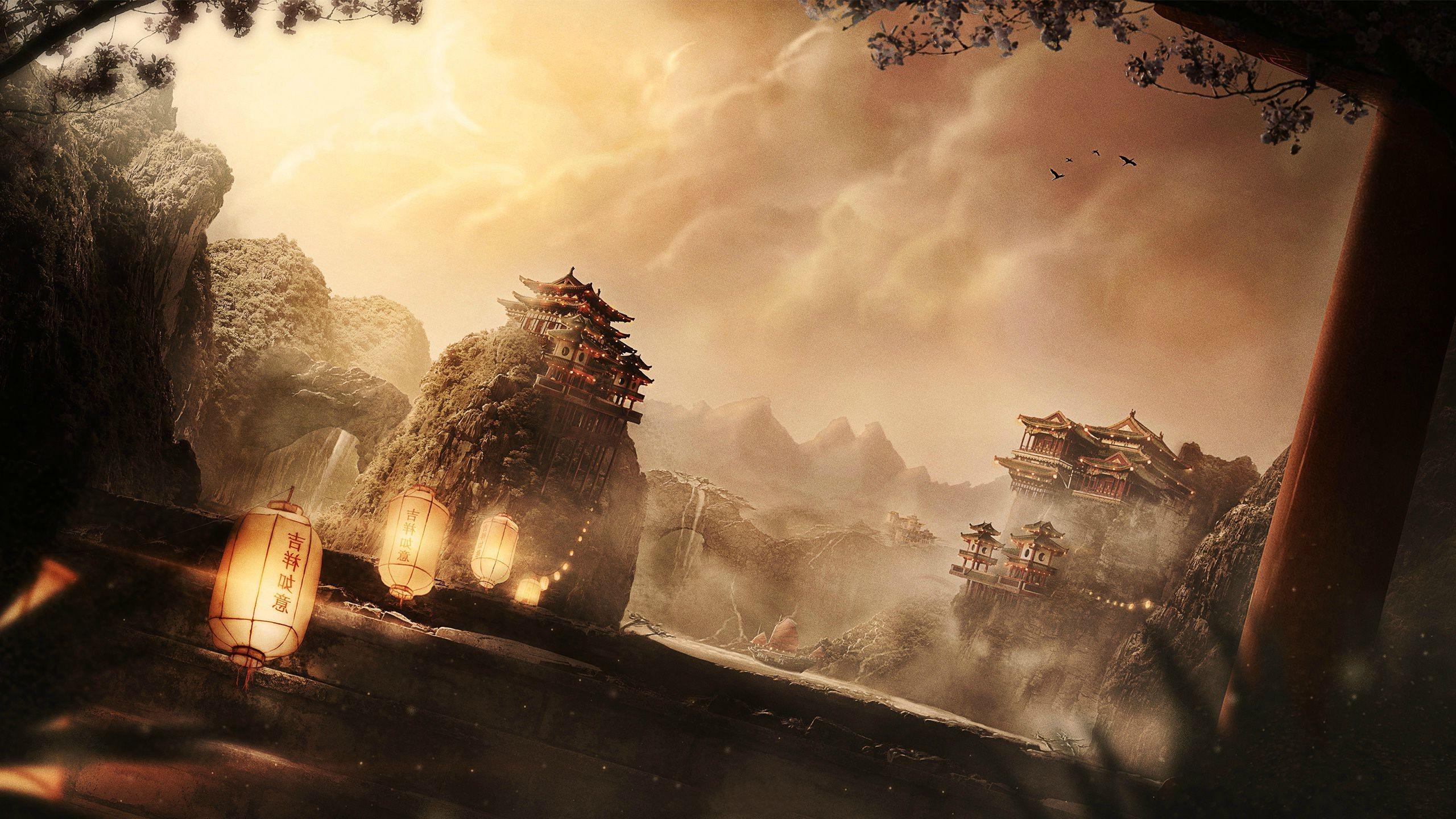 Hd Game Wallpaper Widescreen Hd Chinese Background Designs Pixelstalk Net
