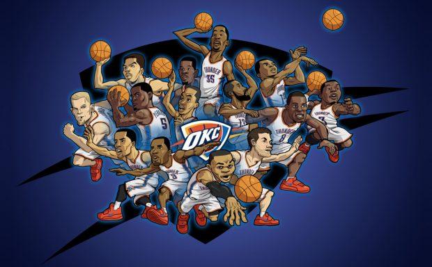 OKC Thunder Wallpaper Backgrounds 2.
