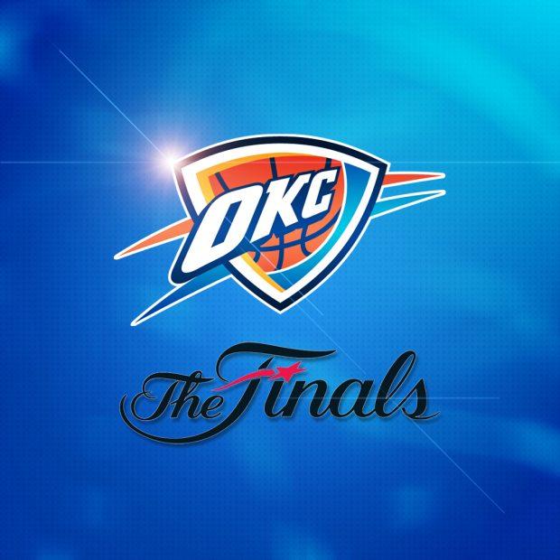 Oklahoma City Thunder Logo Wallpaper 2.