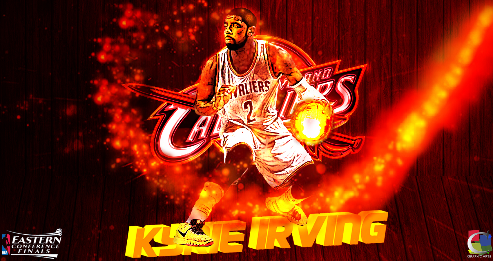 Lebron James Animated Wallpaper Kyrie Irving Wallpaper Pixelstalk Net