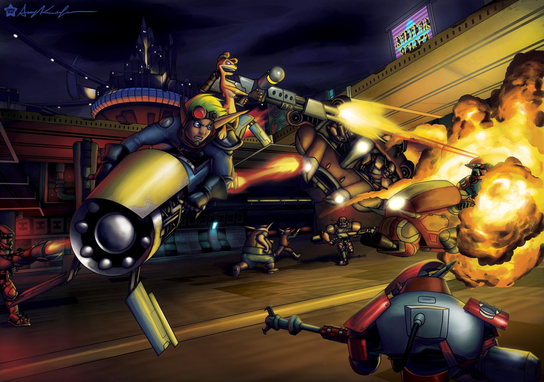 Destiny 2 Hd Wallpaper Jak And Daxter Wallpapers Hd Pixelstalk Net