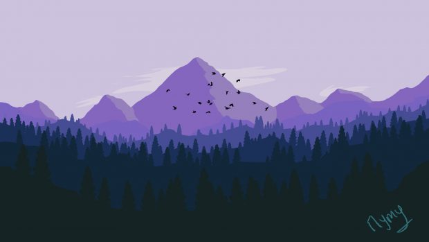 Animated Wallpapers For Pc Desktop Free Download Firewatch Wallpaper Hd Free Download Pixelstalk Net