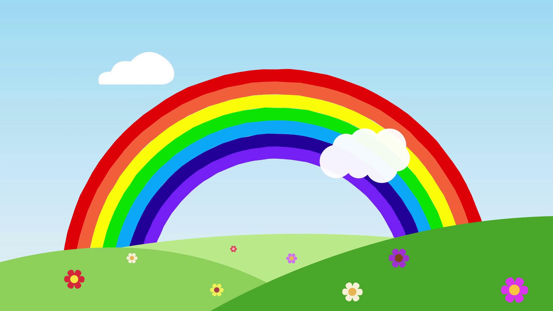 Cute Animated Cupcake Wallpaper Cute Rainbow Hd Wallpapers Pixelstalk Net
