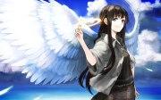 anime angel wings hd