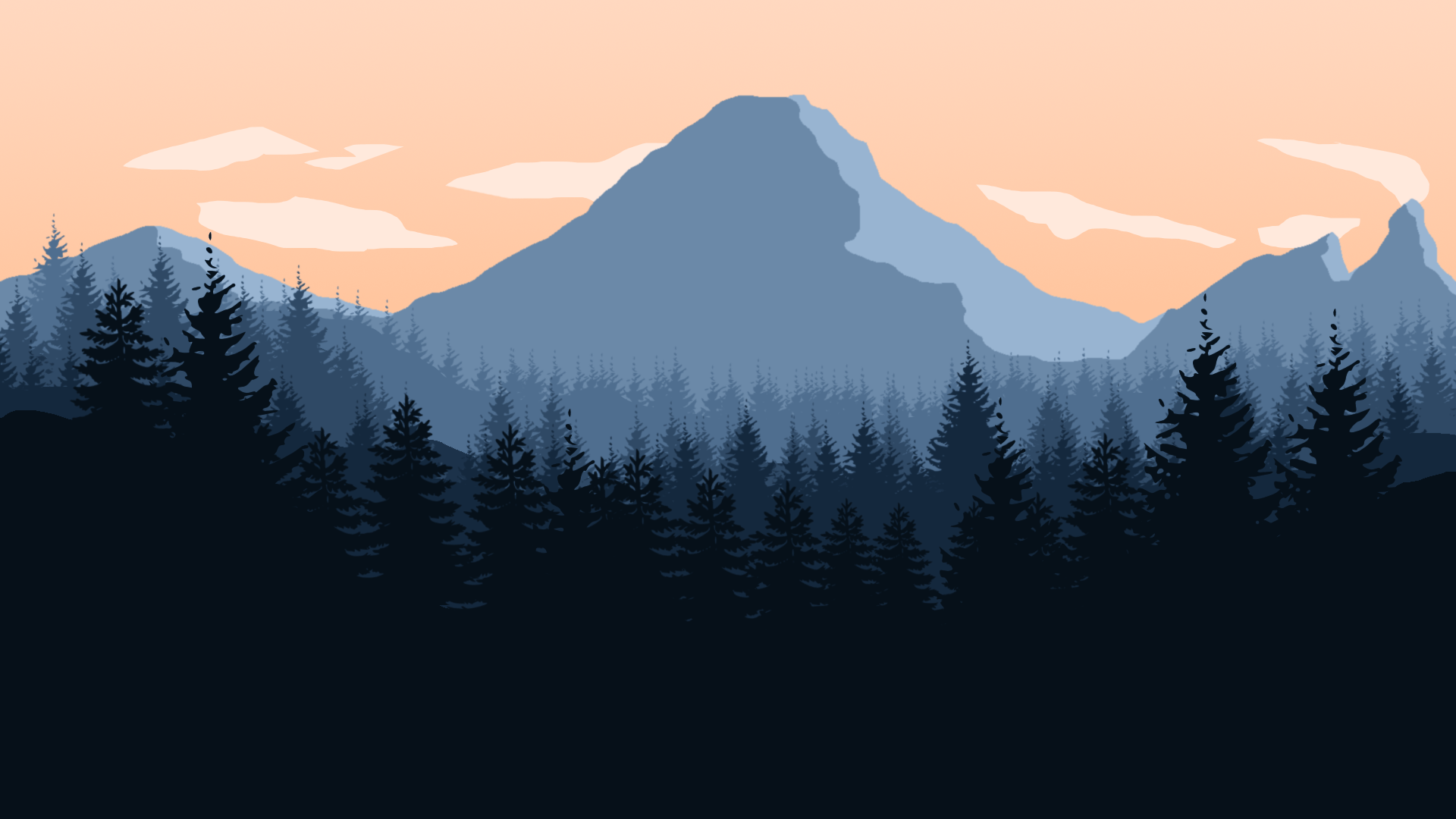 Gravity Falls Minimalist Wallpaper Firewatch Backgrounds Pixelstalk Net