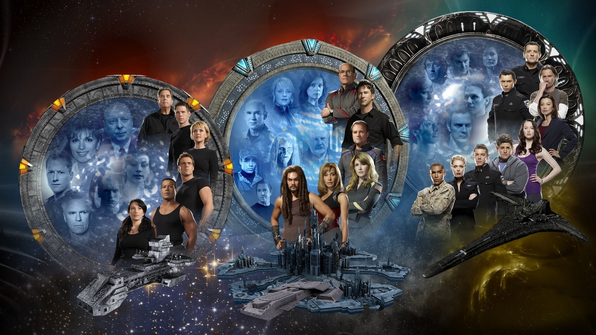 Cute Cartoon Fall Wallpaper Stargate Wallpapers Hd Pixelstalk Net
