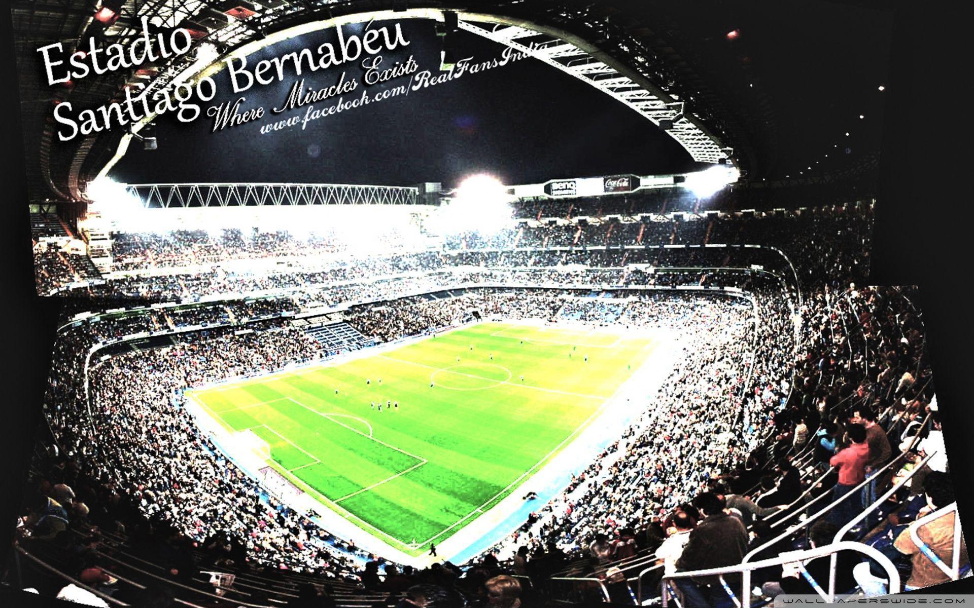 Fall 2017 Wallpaper Real Madrid Santiago Bernabeu Stadium Wallpapers