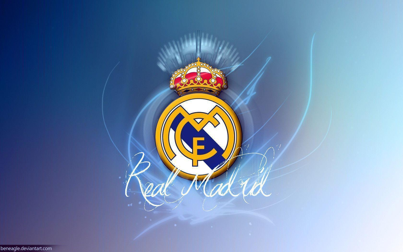 Real Madrid Logo Wallpaper HD  PixelsTalkNet