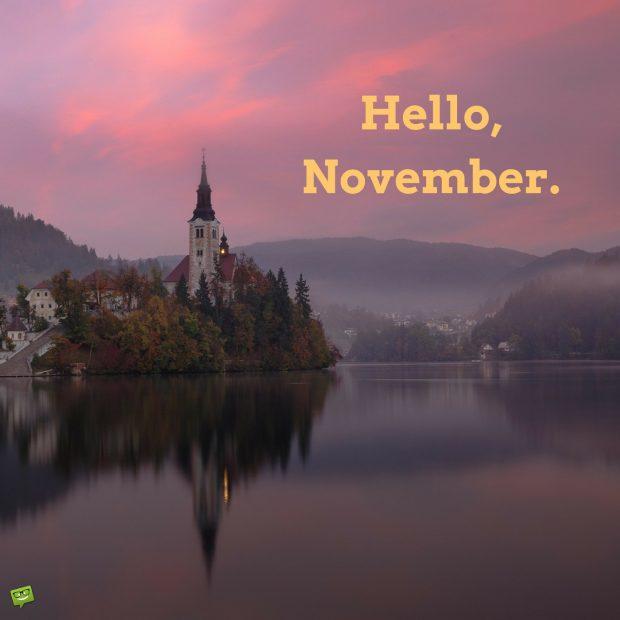 Fall Desktop Wallpaper With Pumpkins Hello November Hd Wallpapers Pixelstalk Net