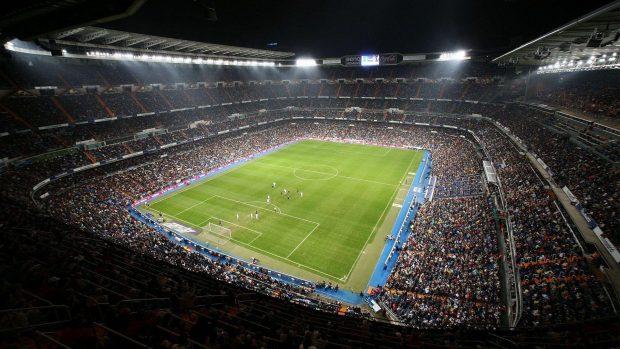 Hala Madrid Hd Wallpaper Real Madrid Santiago Bernabeu Stadium Wallpapers
