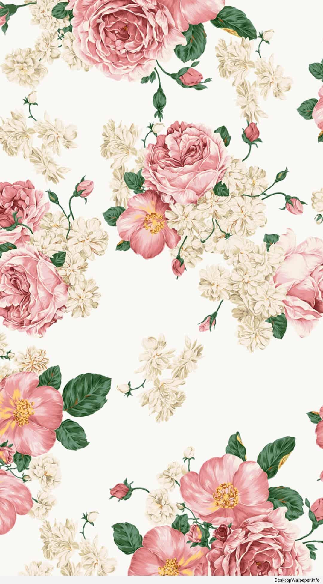 Cute Floral Pattern Wallpaper Floral Wallpaper Iphone Pixelstalk Net