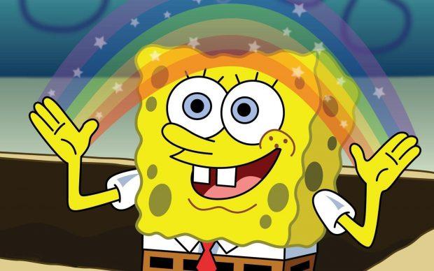 Cute Spongebob Cartoon Wallpaper Spongebob Squarepants Wallpapers For Desktop Pixelstalk Net