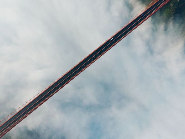 photographies prises par drone