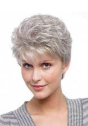 short pixie haircuts gray