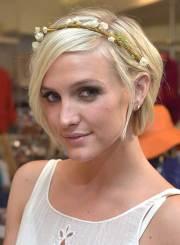 pixie wedding hair