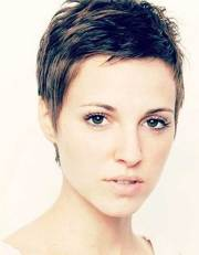short pixie haircuts thick