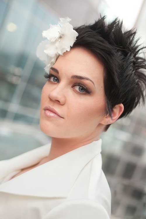 Bridal Hairstyles Short Hair Page 1