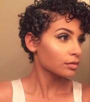pixie cuts curly hair