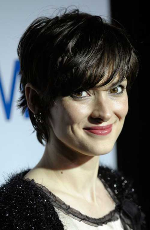 Winona Ryder Pixie Haircut