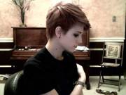 brown pixie haircuts