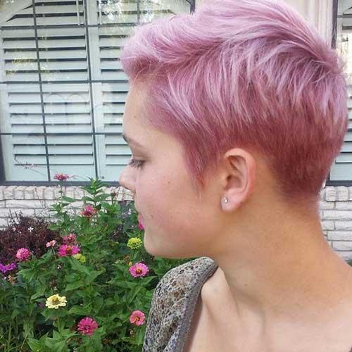15 Pixie Cuts Pink Pixie Cut 2015
