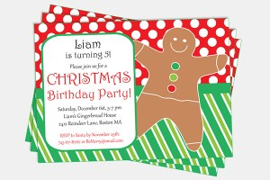 Editable Christmas Party Invitation by Pixiebear Party Printables