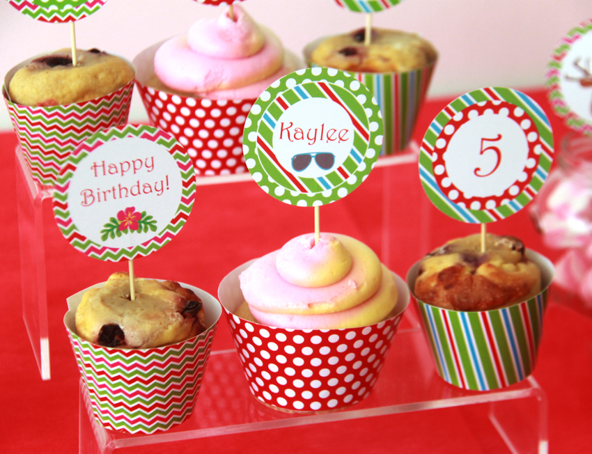 Christmas in july party pixiebear party printables for Christmas in july party ideas