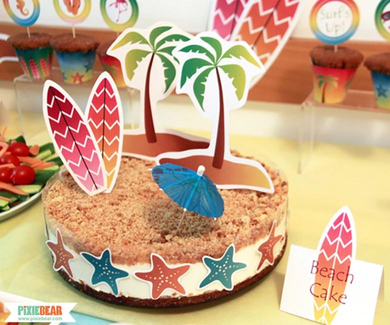 Beach Birthday by Pixiebear