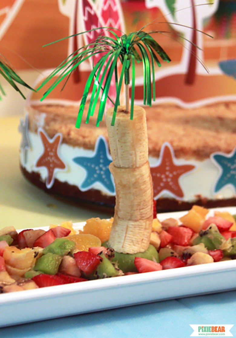 How to make a Palm Tree Fruit Salad Recipe by Pixiebear