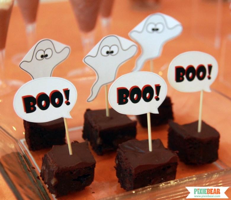 Halloween Birthday Decorations by Pixiebear