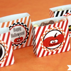 Halloween Treat Boxes by Pixiebear