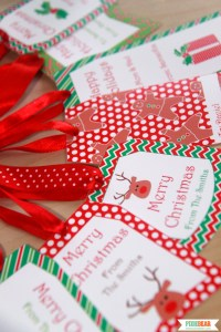 Christmas Holiday Tags by Pixiebear Party Printables