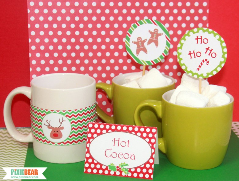 Christmas Printable Decorations by Pixiebear