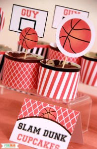 March Madness Party Ideas by Pixiebear Party Printables