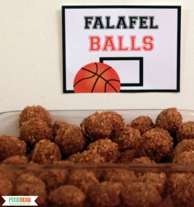 Basketball Party Ideas by Pixiebear Party Printables