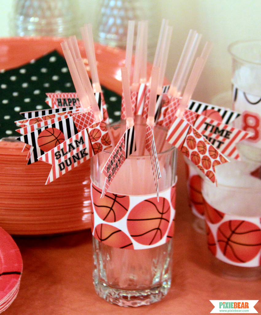March Madness Party Pixiebear Party Printables