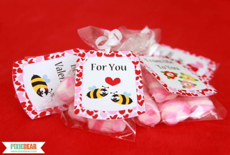 Valentine's Day Gift Tags by Pixiebear Party Printables