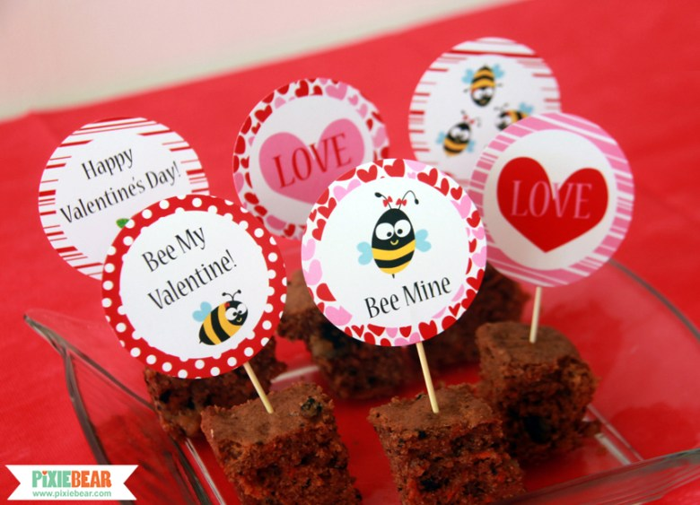 Valentine's Day Party by Pixiebear Party Printables