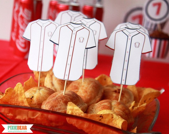 Baseball Birthday Party Ideas by Pixiebear.com