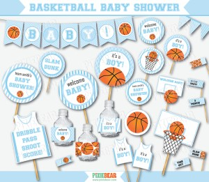 Basketball Baby Shower by Pixiebear.com (1)
