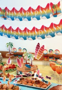 Beach Party Decorations by Pixiebear
