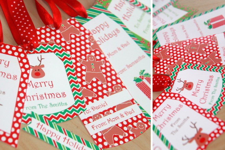 Christmas Gift Tags by Pixiebear